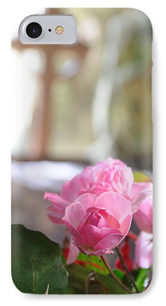 Church Flowers IPhone Case