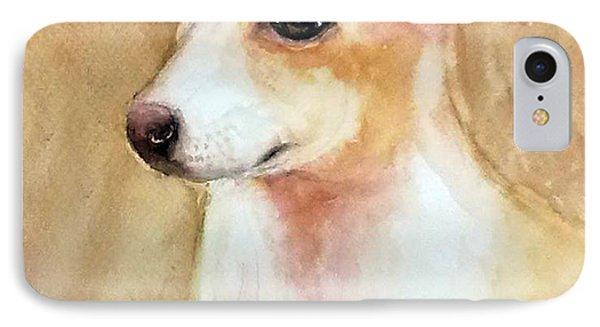 Chutki The Pet Dog IPhone Case