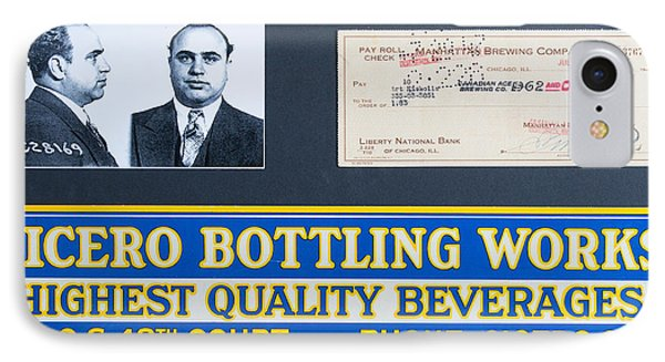 Cicero Bottling Works Chicago Brewing IPhone Case