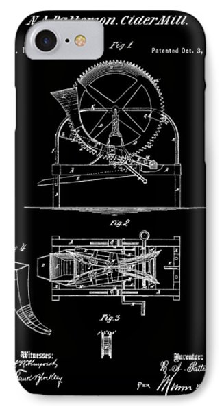 Cider Mill Patent IPhone Case