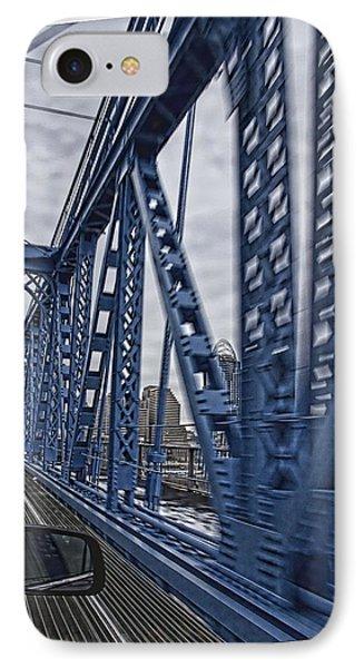 Cincinnati Bridge IPhone Case