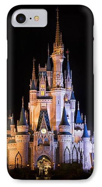 Cinderella's Castle In Magic Kingdom IPhone Case