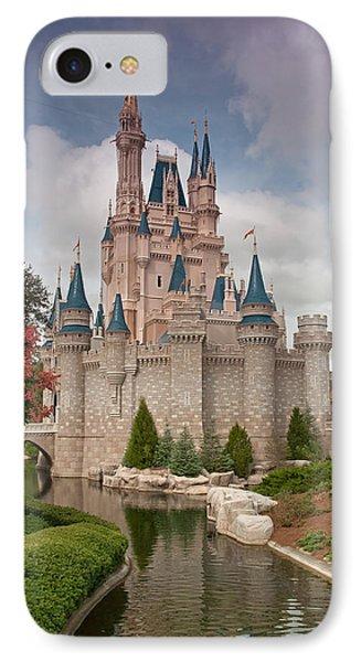 Cinderella's Enchanted Castle IPhone Case