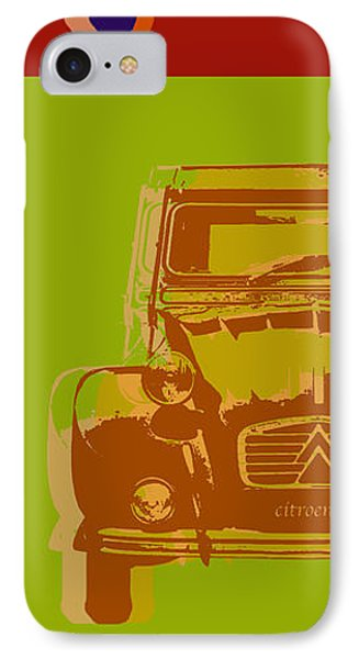 Citroen 2cv IPhone Case