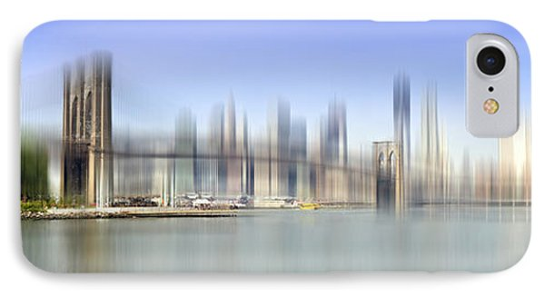 City-art Manhattan Skyline I IPhone Case