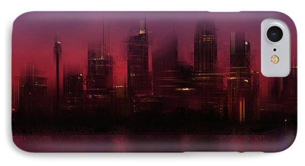 City-art Sydney Skyline IPhone Case