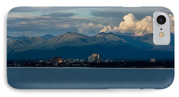 City Of Anchorage  IPhone Case