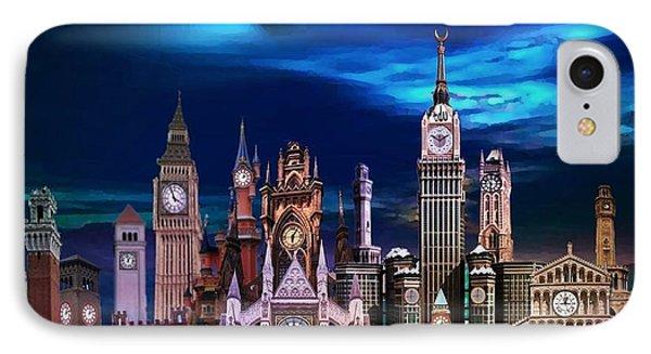 City Of Clocks IPhone Case