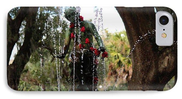 City Park Fountain IPhone Case