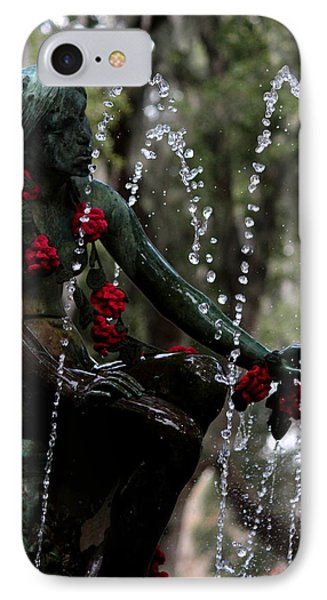 City Park Fountain II IPhone Case