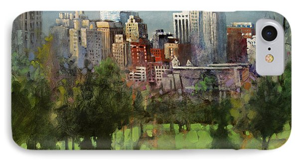 City Set On A Hill IPhone Case