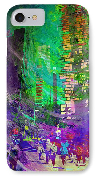 City Streets IPhone Case