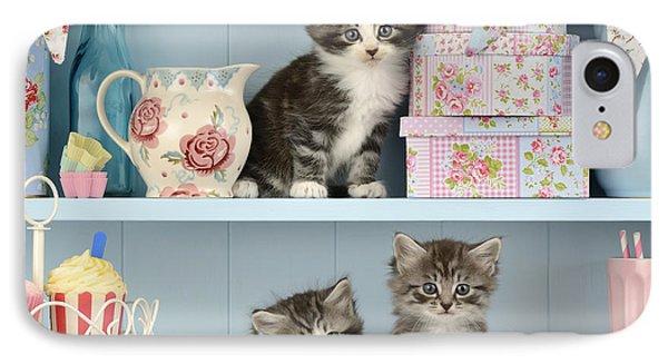 Baking Shelf Kittens IPhone Case
