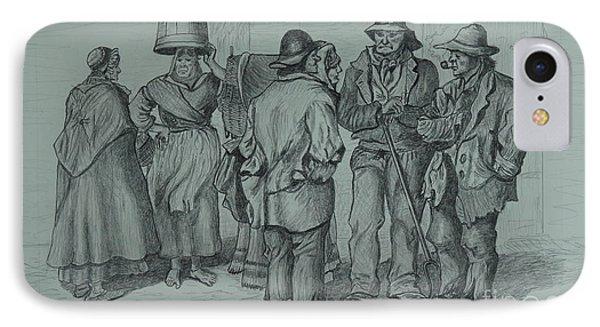Claddagh People 1873 IPhone Case