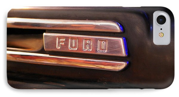 Classic Americana Retro Ford Truck Logo IPhone Case