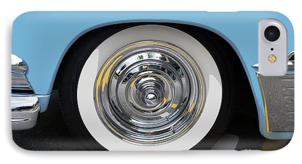 Classic Wide Whitewall Tire IPhone Case