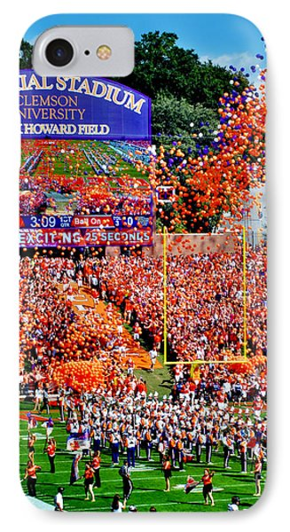 Clemson Tigers Memorial Stadium IPhone Case