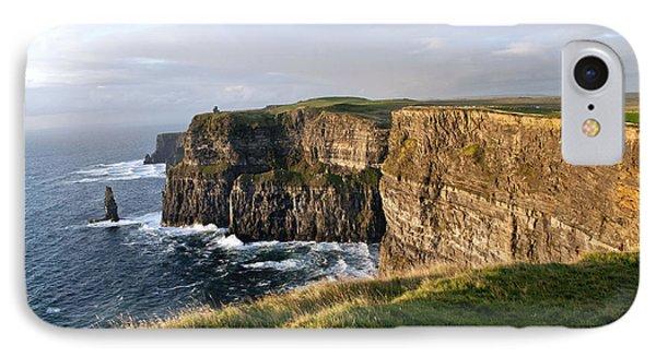 Cliffs Of Moher Evening Light IPhone Case