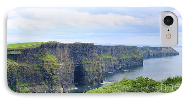 Cliffs Of Moher Panorama 3 IPhone Case