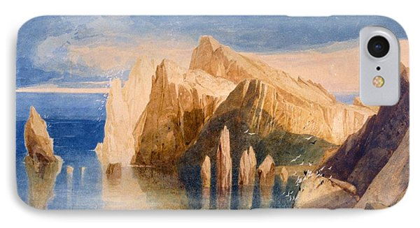 Cliffs On The North East Side Of Point IPhone Case