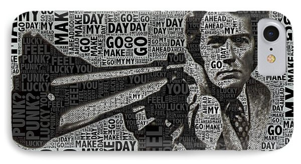 Clint Eastwood Dirty Harry IPhone Case