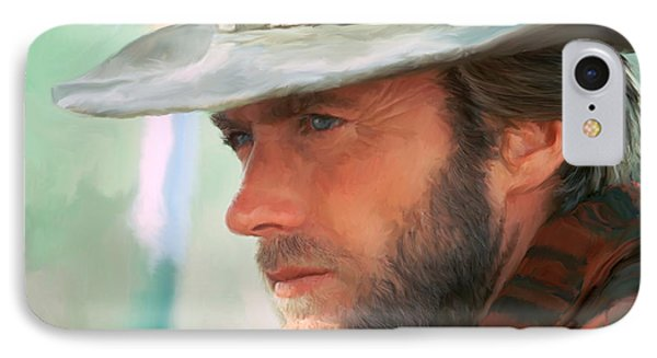 Clint Eastwood IPhone Case