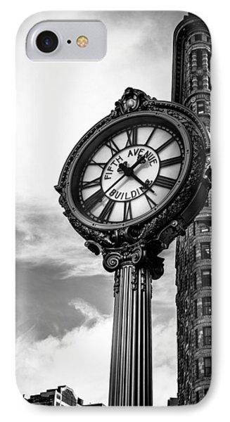 Clock Of Fifth Avenue Building IPhone Case