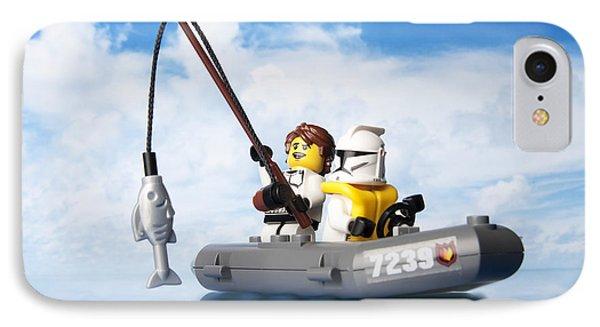 Clone Trooper Fishing Trip IPhone Case
