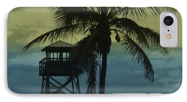 Close To Paradise No2 IPhone Case