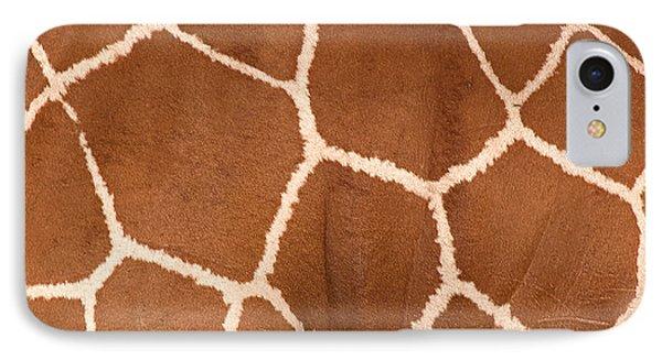 Close-up Of A Reticulated Giraffe IPhone Case