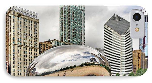 Cloud Gate In Chicago IPhone Case