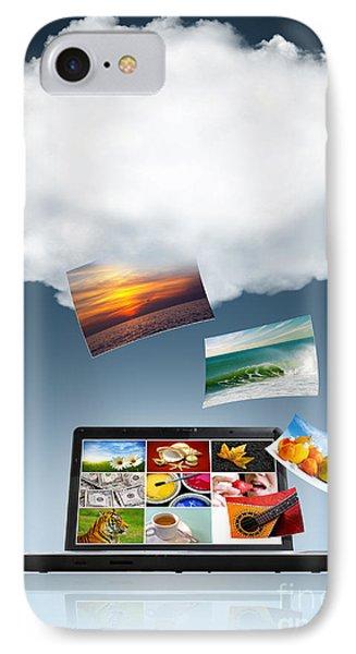 Cloud Technology IPhone Case