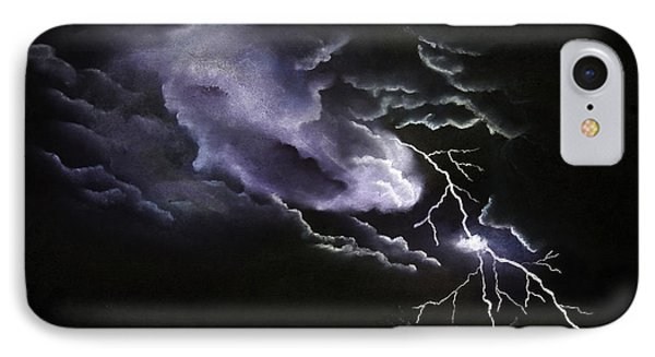 Cloud To Ground IPhone Case