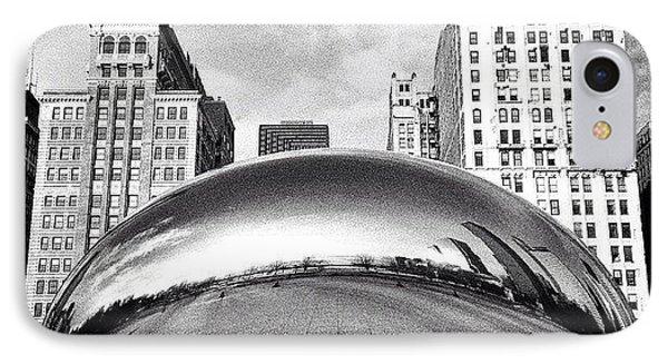 Chicago Bean Cloud Gate Photo IPhone Case