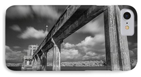 Clouds Above The Bridge IPhone Case