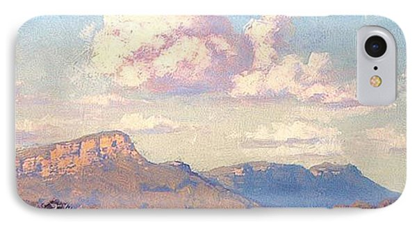 Clouds Over Megalong IPhone Case