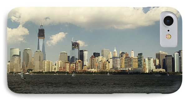 Clouds Over New York Skyline IPhone Case
