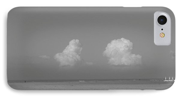 Clouds Over The Sea IPhone Case