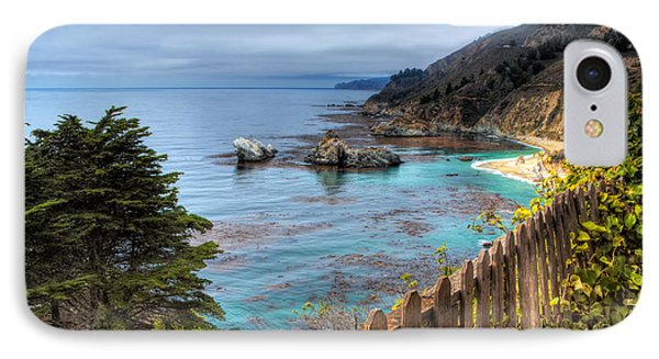 Cloudy Day In Big Sur IPhone Case