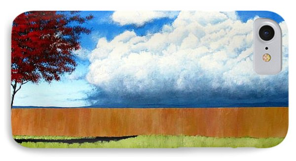 Cloudy Day IPhone Case