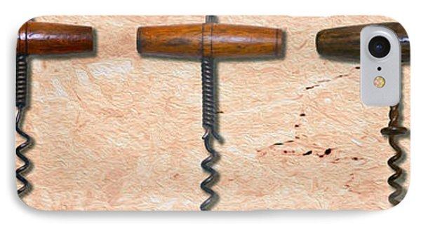 Clough Corkscrews Painting  IPhone Case