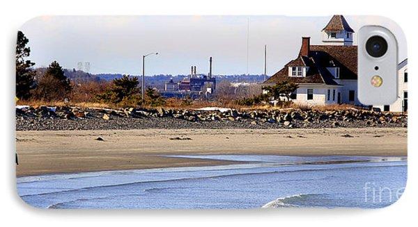 Coast Guard  Beach Nahant IPhone Case