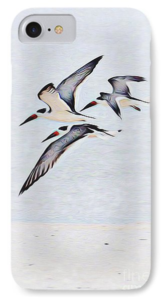 Coastal Skimmers IPhone Case