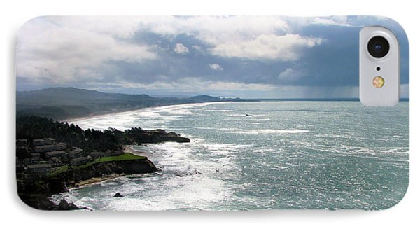 Coastline At Salishan IPhone Case
