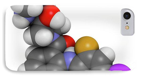 Cobimetinib Melanoma Drug Molecule IPhone Case