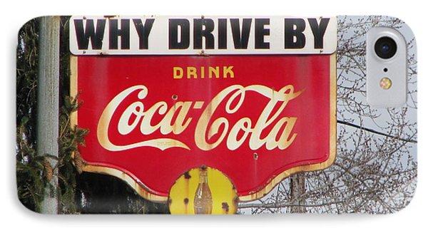 Coca-cola Sign IPhone Case