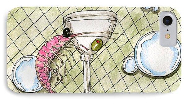 Cocktail Shrimp IPhone Case
