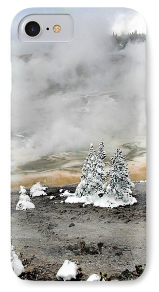 Cold And Hot Trees IPhone Case
