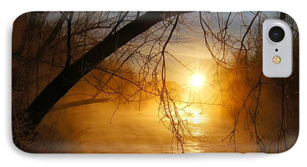 Cold Water Sunrise IPhone Case