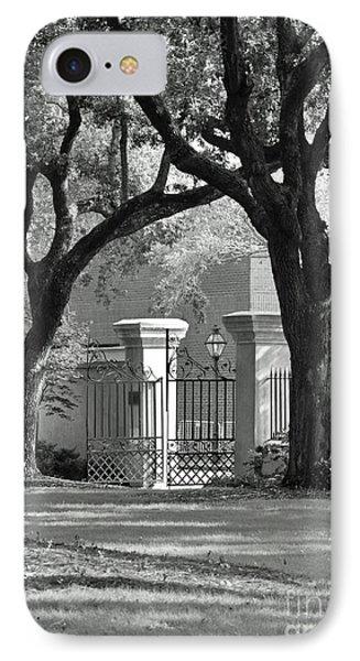 College Of Charleston Gate IPhone Case
